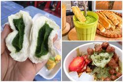 Trà xanh bỗng hot trở lại, ăn 'sập' Hà Nội với những món ngon làm từ matcha