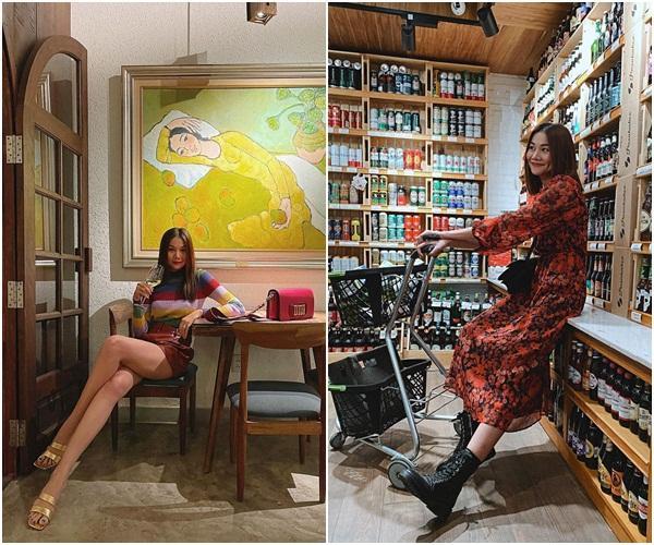 Diện đồ họa tiết chuẩn như Thanh Hằng, Hà Tăng giúp nàng nổi bật dịp Tết 2021-3