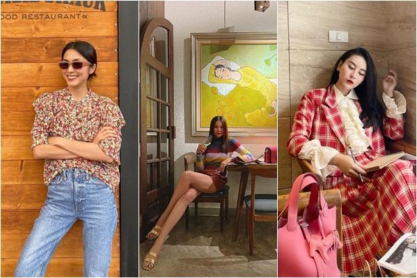Diện đồ họa tiết chuẩn như Thanh Hằng, Hà Tăng giúp nàng nổi bật dịp Tết 2021-1