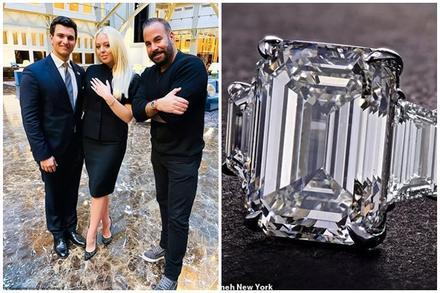 Nhẫn đính hôn của Tiffany Trump có giá hơn 1 triệu USD