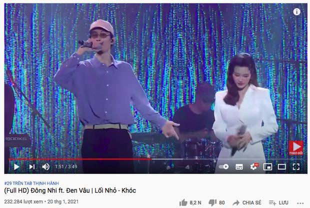 Bị nghi ngờ hát nhép, Đông Nhi công khai clip gốc song ca cùng Đen Vâu để chứng minh live 100%-1