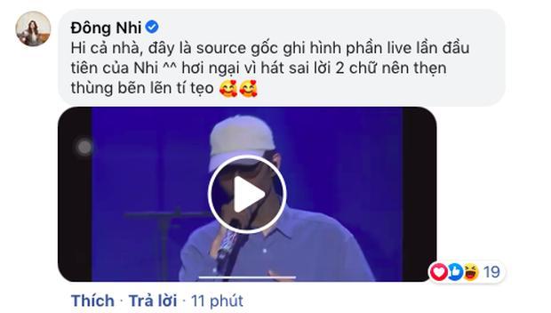 Bị nghi ngờ hát nhép, Đông Nhi công khai clip gốc song ca cùng Đen Vâu để chứng minh live 100%-3
