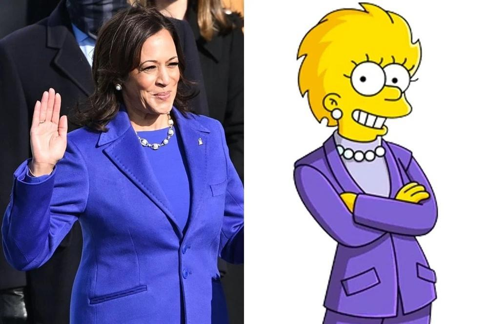 21 năm trước The Simpsons đã tiên tri Kamala Harris thành Phó Tổng thống-1