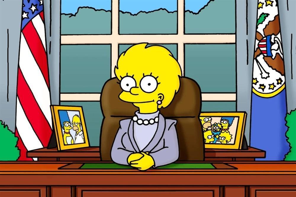 21 năm trước The Simpsons đã tiên tri Kamala Harris thành Phó Tổng thống-2