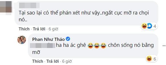 Phan Như Thảo muốn táng văng răng người chê mình mập như heo-4