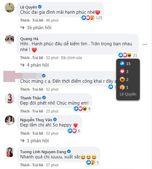 Lệ Quyên thả tym cho mọi lời chúc hạnh phúc bên tình trẻ Lâm Bảo Châu-2