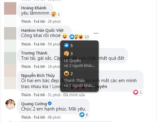 Lệ Quyên thả tym cho mọi lời chúc hạnh phúc bên tình trẻ Lâm Bảo Châu-4