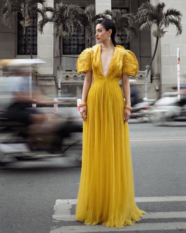 Khánh Linh như nữ thần tại WeChoice Awards, đụng váy 350 triệu với Hà Hồ-2