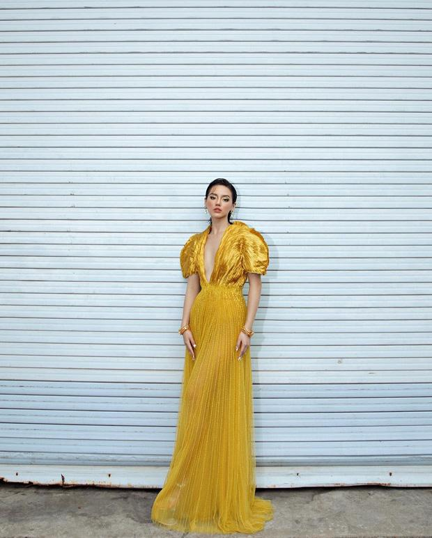 Khánh Linh như nữ thần tại WeChoice Awards, đụng váy 350 triệu với Hà Hồ-3