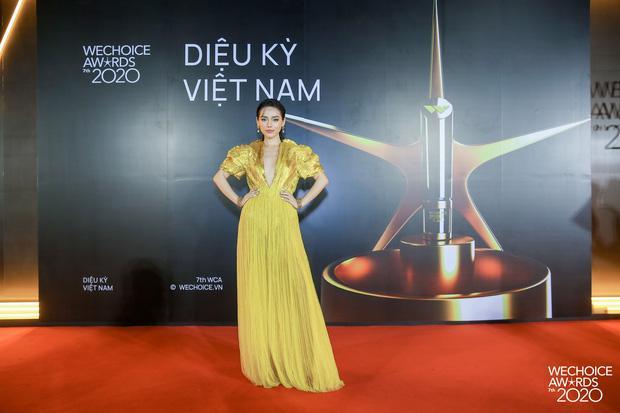 Khánh Linh như nữ thần tại WeChoice Awards, đụng váy 350 triệu với Hà Hồ-5