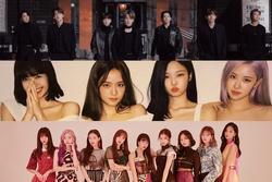 BXH groups Kpop tháng 1: BTS, BlackPink giữ phong độ, Twice lội ngược dòng