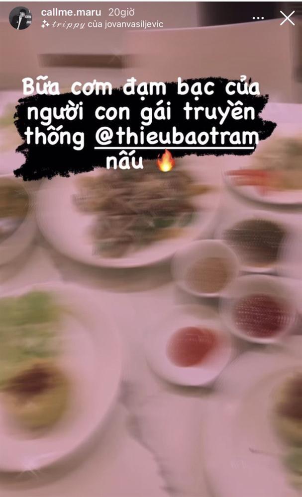Bạn bè gọi Thiều Bảo Trâm là người con gái truyền thống: Vừa xinh lại nấu ăn giỏi-2