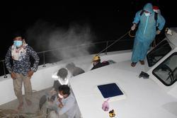 Cách ly 38 người nhập cảnh trái phép qua đường biển