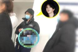 Hoa Thần Vũ lộ diện sau scandal có con, tố paparazzi vì đeo bám