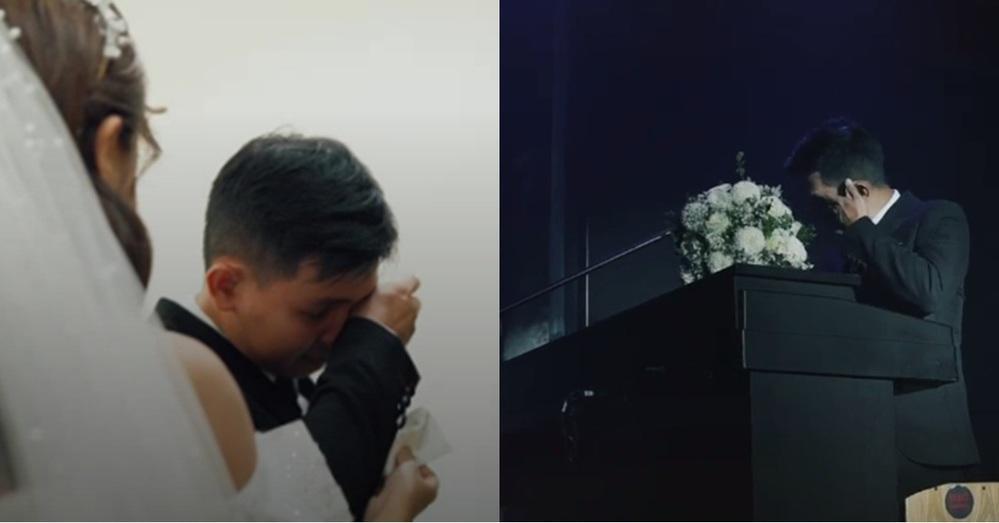 Xôn xao clip chú rể khóc nức nở ở đám cưới, nguyên nhân phía sau gây bất ngờ-4