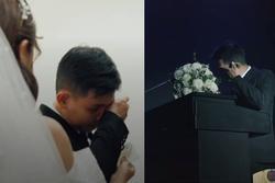 Xôn xao clip chú rể khóc nức nở ở đám cưới, nguyên nhân phía sau gây bất ngờ