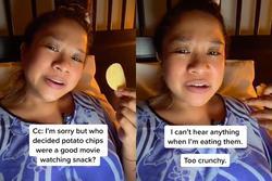 Vì sao chúng ta không nên ăn snack khoai tây mỗi khi xem phim
