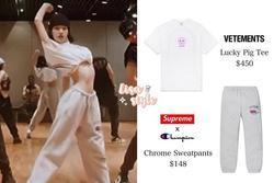 Style sao Hàn tuần qua: BLACKPINK Lisa khoe body 'bỏng mắt', diện áo phông sương sương chục triệu
