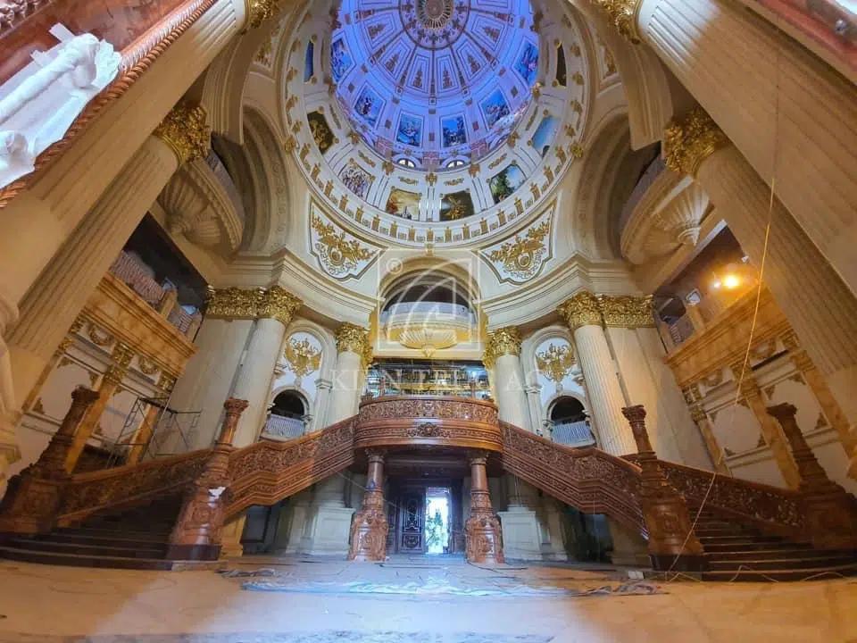 Không gian, thực đơn đám cưới khủng trong lâu đài dát vàng ở Ninh Bình-7