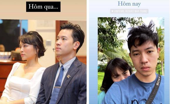 Hà Trúc, Quang Đạt cua gắt: Đi sự kiện sang như công chúa hoàng tử, ra phố thành sếp và trợ lý-2