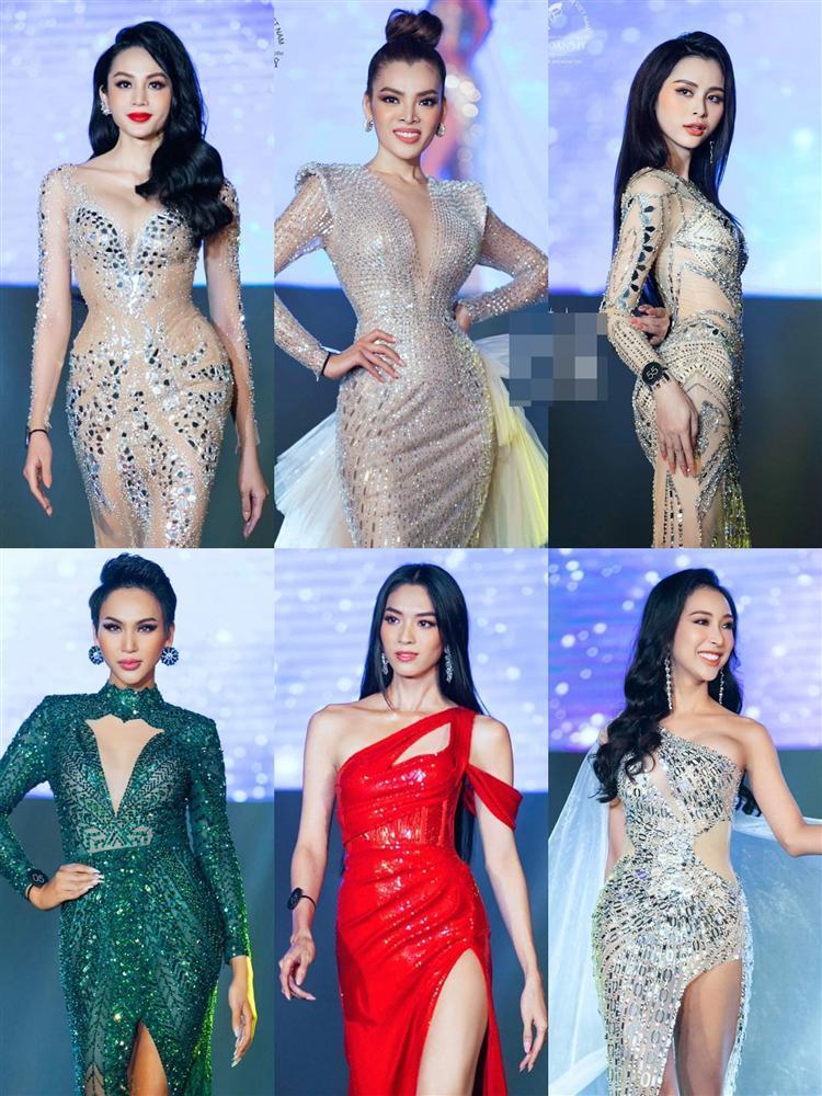 Màn catwalk lột váy của tân Hoa hậu chuyển giới Trân Đài bị bóc học lỏm Á hậu người Mexico-1