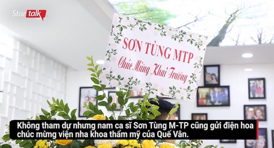 Quế Vân bị bóc phốt tự tặng hoa cho mình dưới mác Sơn Tùng-4