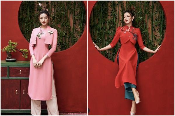 Tết chưa đến mà Chi Pu - Sun Ht - Huyền My đã xúng xính áo dài-8