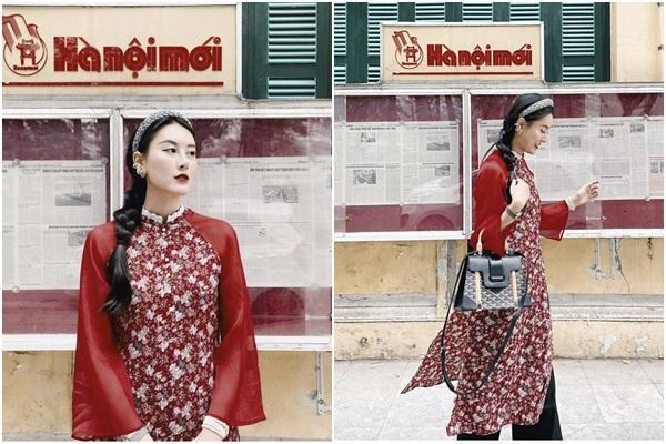 Tết chưa đến mà Chi Pu - Sun Ht - Huyền My đã xúng xính áo dài-4