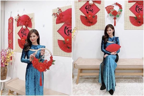Tết chưa đến mà Chi Pu - Sun Ht - Huyền My đã xúng xính áo dài-7