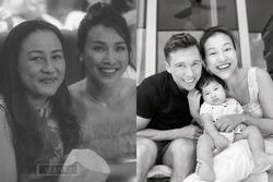 Đang hạnh phúc bên chồng con, Hoàng Oanh bất ngờ gửi mẹ: 'Con mệt rồi'