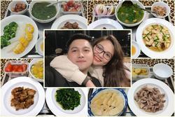 Bữa cơm cữ 'chồng nhà người ta' trổ tài khiến ai cũng ghen tị với cô vợ 'số hưởng'