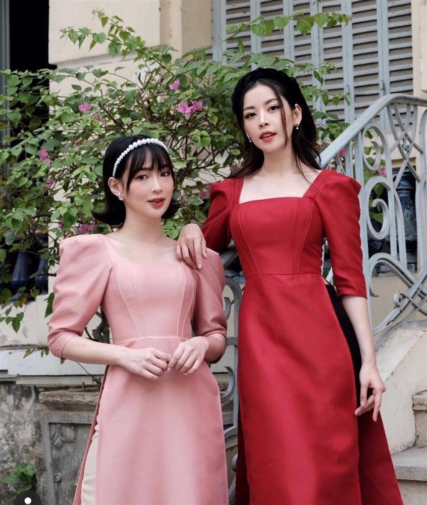 Tết chưa đến mà Chi Pu - Sun Ht - Huyền My đã xúng xính áo dài-2