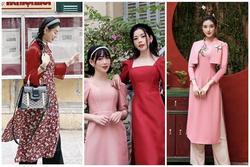 Tết chưa đến mà Chi Pu - Sun Ht - Huyền My đã xúng xính áo dài
