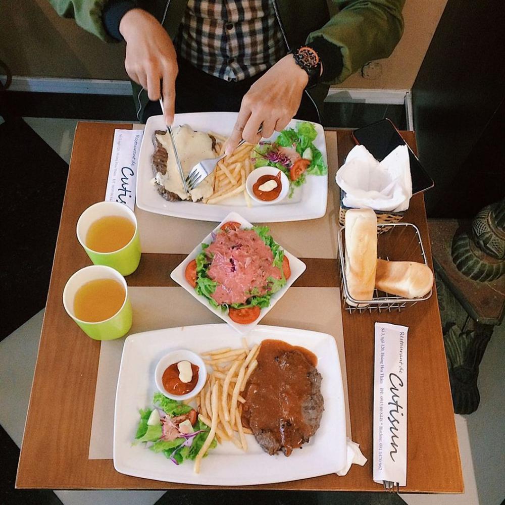 No căng bụng với 4 quán bít tết đông nườm nượp khách ở Hà Nội-7