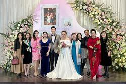 Ảnh hiếm trong đám cưới bí mật của con gái Thanh Lam