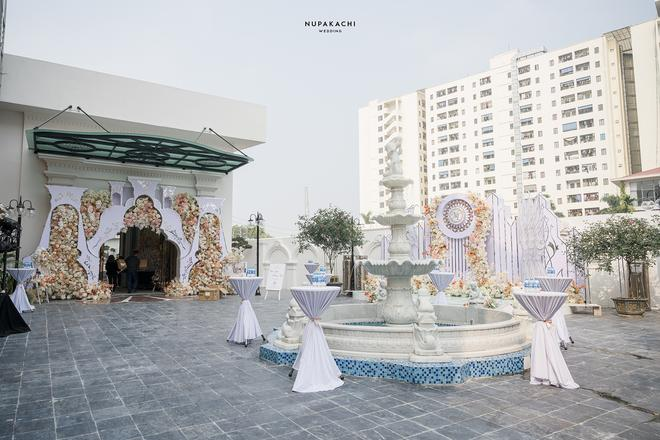 Đám cưới cổ tích ở Bắc Ninh: Riêng tiền thiết kế 30 tỷ, 300 xế xịn đỗ kín đường-3