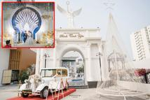 Đám cưới cổ tích ở Bắc Ninh: Riêng tiền thiết kế 30 tỷ, 300 xế xịn đỗ kín đường