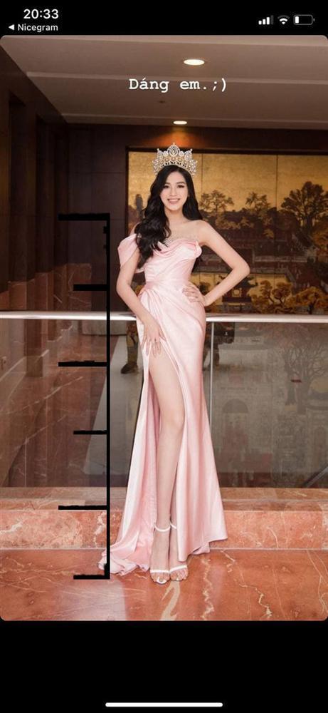 Hoa hậu Đỗ Thị Hà tự đăng thì chân dài đạt tỉ lệ 1/5 khó tin, qua camera thường thì sao?-2