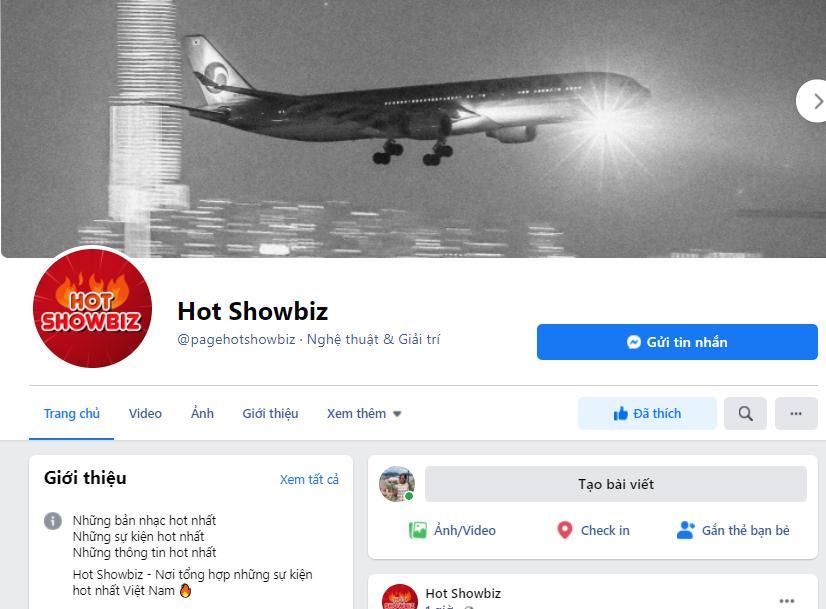 Hot showbiz - fanpage cập thật thông tin 'nóng' theo cách đặc biệt-1