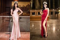 Hoa hậu Đỗ Thị Hà tự đăng thì chân dài đạt tỉ lệ 1/5 khó tin, qua camera thường thì sao?