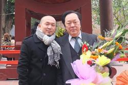 Nhạc sĩ Quốc Trung gây xúc động khi tạm biệt bố - NSND Trung Kiên