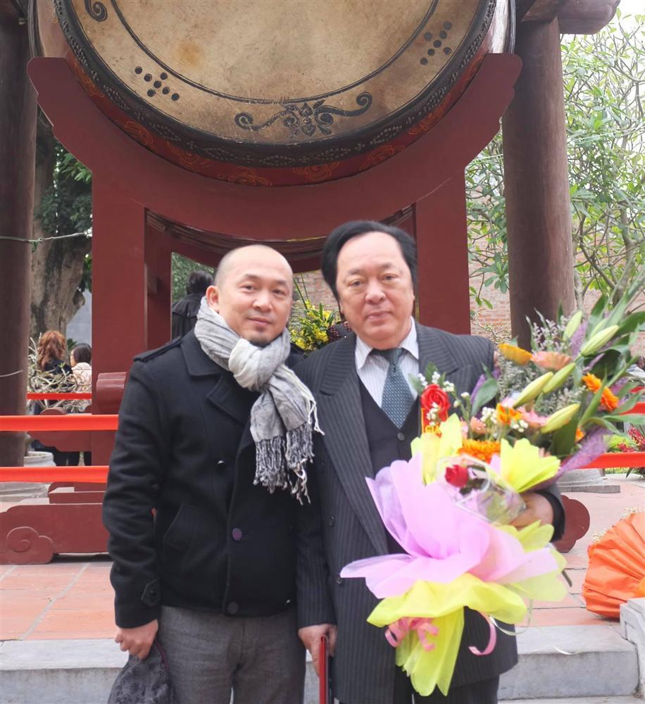 Nhạc sĩ Quốc Trung gây xúc động khi tạm biệt bố - NSND Trung Kiên-2