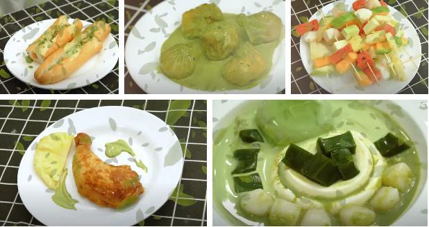 MisThy bị chỉ trích ăn bám showbiz khi tung loạt món ăn về trà xanh-2