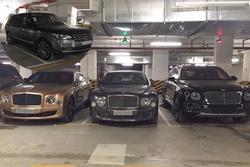 Choáng váng nhìn dàn siêu xe trăm tỷ tụ họp ở một hầm gửi xe Hà Nội