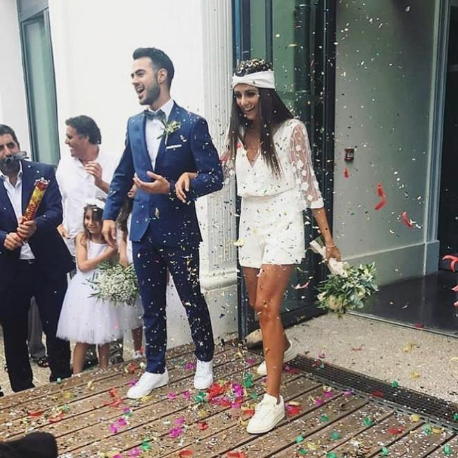 Những cô dâu diện giày sneakers, quần ngắn trong ngày cưới-3