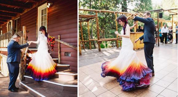 Những cô dâu diện giày sneakers, quần ngắn trong ngày cưới-7