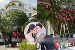 Đám cưới Phan Thành: Biệt thự nhà cô dâu dựng cổng hoa tươi hoành tráng