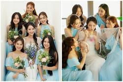 Primmy Trương 'nhá hàng' ảnh cưới, dàn phù dâu toàn Hoa hậu, diễn viên