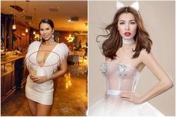 Những trang phục lộ nội y kém sang khiến sao Việt 'muối mặt'