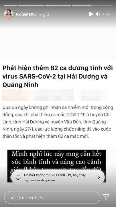 Sao Việt lan tỏa thông điệp tích cực khi dịch Covid-19 diễn biến phức tạp-5